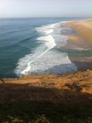 Nordstrand von Nazaré