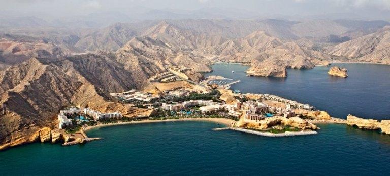 Shangrilah´s Barr Al Jissah Resort, Maskat